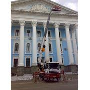 Услуги Автовышки (044)232-70-41 Киев, Автовышки 18,22,28,33,40м) Киев фото
