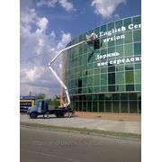 Автовышка, услуги автовышки Киев, аренда 067-306-20-84 фото