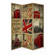 Аренда (прокат) ширмы декоративной с фотопечатью «Лондон» фото