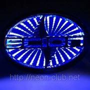 3D LED эмблема Scion   Сайон LED 12,5x8,5cм фото