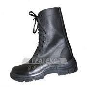 Берцы (ботинки) Омон-1, нат. кожа на молнии фото