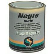 Черная матовая краска Roberlo Negromate, 1л фото