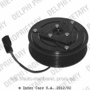 Электромагнитная муфта компрессора кондиционера на Renault Trafic 06-> 2.0dCi — Delphi (Великобритания) 0165001/0 фото