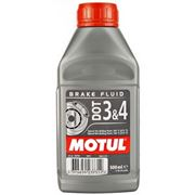 Motul DOT 3&4 Brake Fluid 0.5L фото