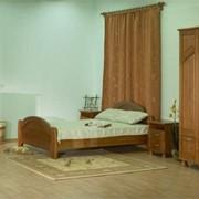 Спальня из сосны фото