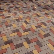 Укладка тротуарной плитки цена за квадратный фото