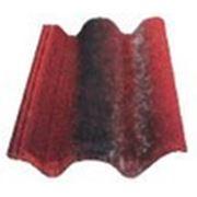 Цементно-песчанная черепица Braas (Коппо ди Греция) Красная фото