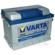 Аккумулятор Varta BLUE dynamic 60 Ач 540А фото