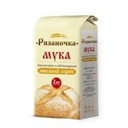 Мука пшеничная высший сорт «Рязаночка» фото