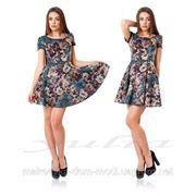 Платье Цветы(Л) фото