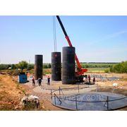 Изготовление резервуаров и монтаж резервуаров под аммиачную воду. фото