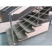 Високоякісні гранітні сходи фото