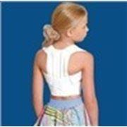 Корсет для корекцiї постави (жорсткий) дитячий, розмiр 3 фото