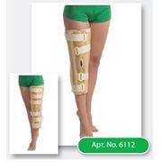 Бандаж на коленный сустав с ребрами жесткости с усиленной фиксацией (ТУТОР) фото