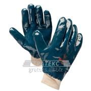Перчатки Нитрос РП/манжета/ двойное нитриловое покрытие арт. 446565 фото