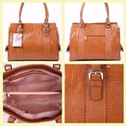 Женская сумка из натуральной кожи фото