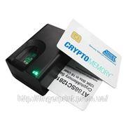Сканер отпечатков пальцев со встроенным считывателем смарт-карт «FS-82» фото