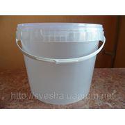 Пластиковое ведро для меда 11.2л. фото