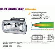Фары SIRIUS NS-24 D-B-C Форма: прямоугольная, Мощность: 55, Рабочее напряжение: 12, Тип: Противотуманные, Диаметр: , Дополнительные характеристики:
