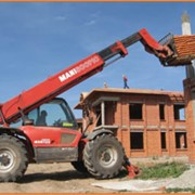 Услуги телескопичекского погрузчика Manitou в Алматы фото