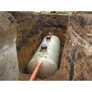 Отвод и очистка бытовых сточных вод фото