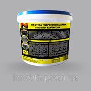 Мастіка гідроізоляційна бітумно-каучукова 5л фото