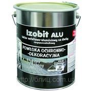 IZOBIT ALU - битумно-аллюминиевая эмульсия (ведро - 4,5кг) фото