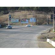 Ялтинская въезд в город от дороги 1 и 2 плоскости фото