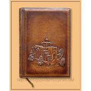 Ежедневник из натуральной кожи «Золотые ворота»