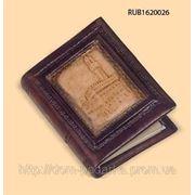 """Адресная книга """"Палацо Вечио"""" с обложкой из натуральной кожи фото"""