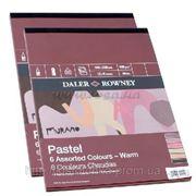 Склейка для пастели Murano-Warm A3 (30,5*40,6см) 160г/м2, 30л, тёплые цвета, Daler-Rowney фото