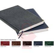 Деловой дневник черный, обложка: искусственная кожа фото