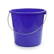 Ведро Беросси 10л лазурно-синий (1/10) фото