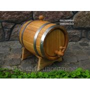 Бочка дубовая для напитков. Дубовая бочка деревянная