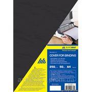 """Обложки BUROMAX """"глянец"""" картон А4 250г,цветные (уп/50шт) фото"""