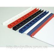 Пластины для документов Press-binder 10мм фото