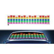 Авто эквалайзер - 5 цветов фото
