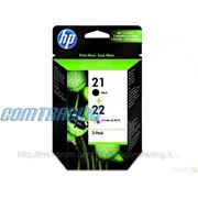 Картридж HP No.21/22 Tri-Color Combo Pack black (SD367AE)