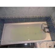 Реставрация ванны за 3 часа по методу «ванна в ванне» фото