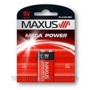 Батарейка алкалиновая 9V/6LR61, 1.9V Maxus фото