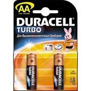 Батарейка Duracel LR6 Basic /пальчиковая/-АА' 4шт. на блистере. (55602) фото