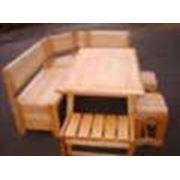 Мебель для саун и дач фотография