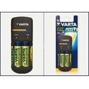 Зарядное устройство Varta Pocket Charger + 4xAA 2100 mAh (57662101451) фото