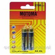 Никель-металл-гидридный NI-MH аккумулятор Motoma NH-AA2700-2B