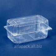 Упаковка пластиковая АЛЬФА-ПАК ПС-52 прозрачная фото