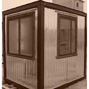 Пост Охраны С 50/2,5 вагонка 63 уголок 3 окна