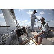 Прогулки на яхте по Днепру фото