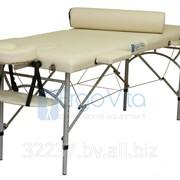 Складной массажный стол алюминиевый ErgoVita MASTER фото