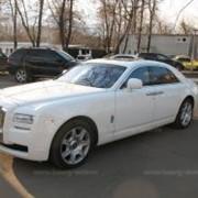 Прокат, аренда свадебных автомобилей Rolls-Royce Ghost фото