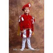 Карнавальный костюм Принца (синий, красный) фото